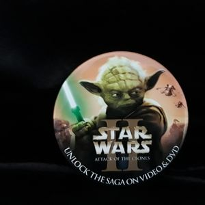 Star Wars 2 Attack of the Clone pin